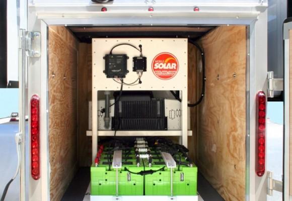 Lithium Solar Trailer