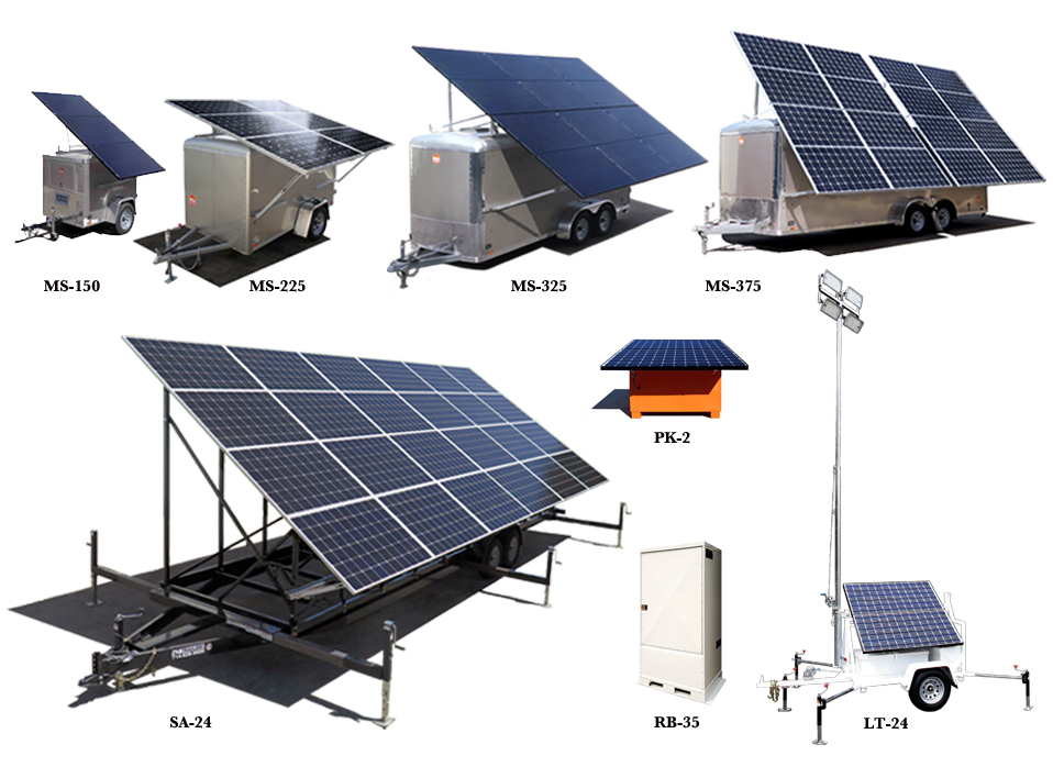 Solar Generators Amp Light Towers Mobile Solar