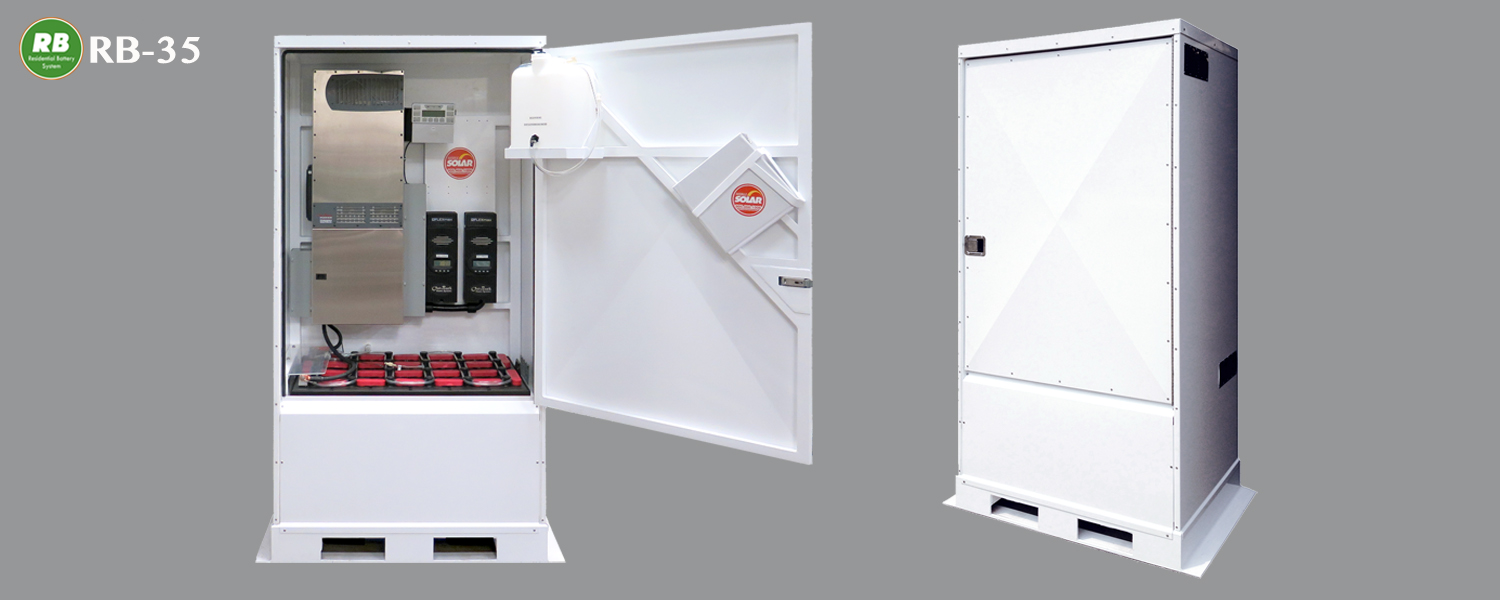 Residential battery mobile solar solutions for Rb storage