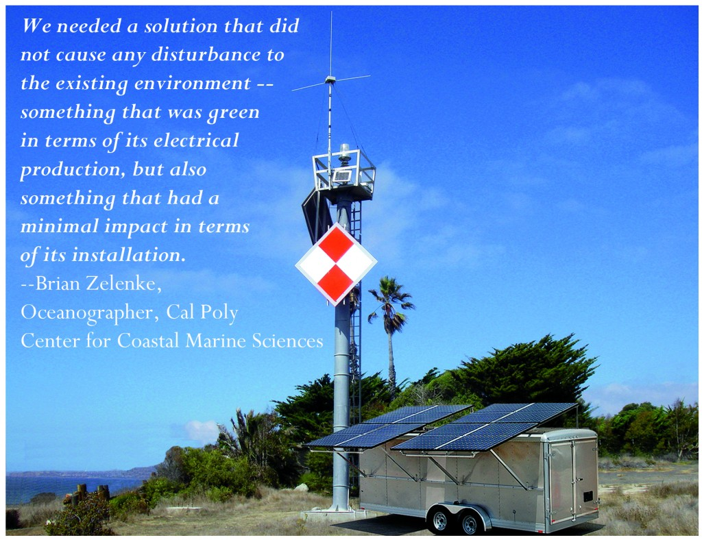 Cap Poly Research Project, Mobile Solar