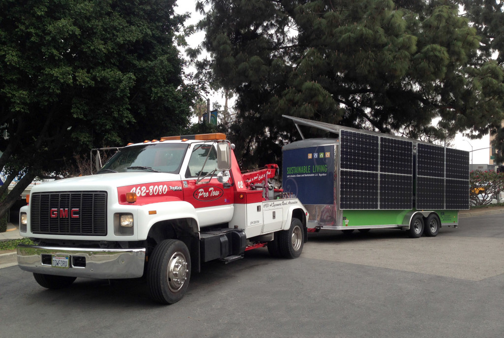 Solar Generator for the LA Dept of Water and Power