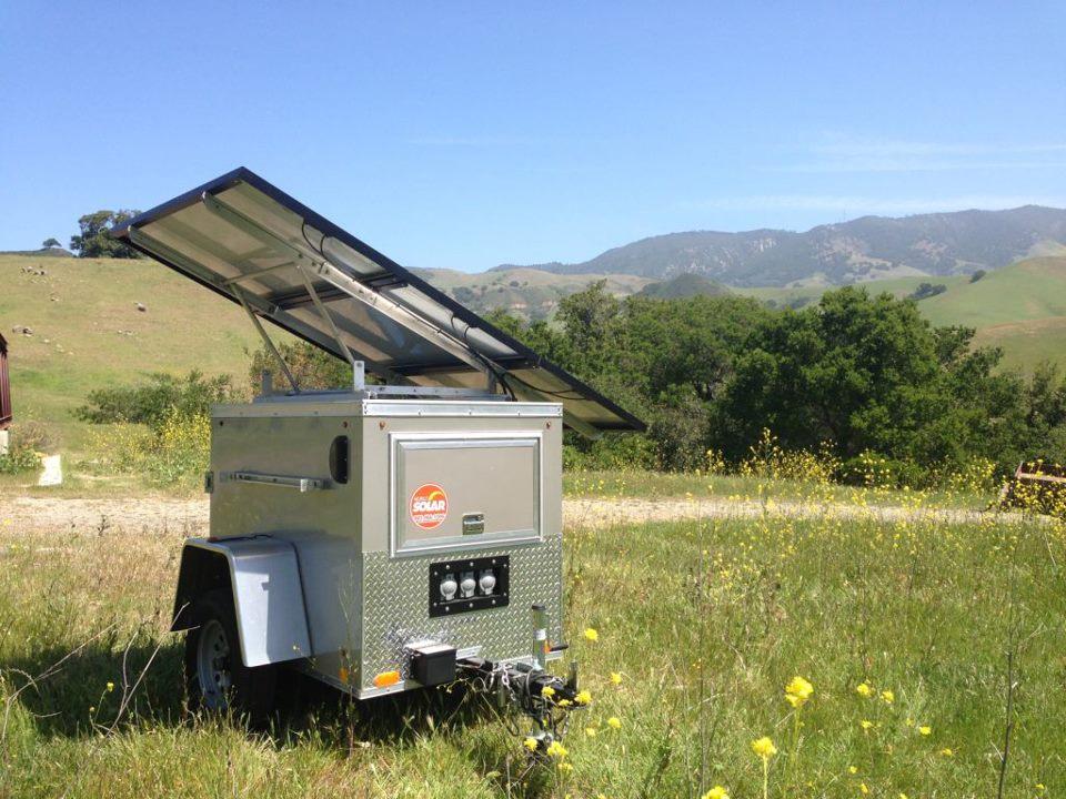 MS-150, Cal Poly, Solar Generator, mobile solar generator