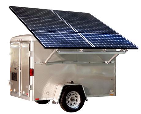 Mobile Solar Trailers