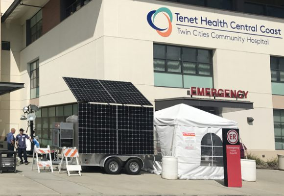mobile solar triage