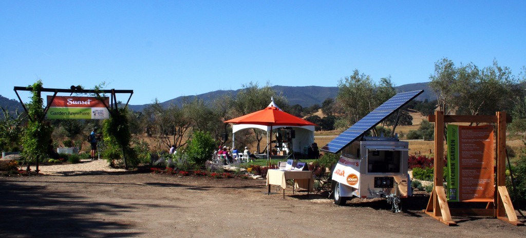 Mobile Solar at Savor the Central Coast